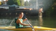 Ce sursaut d'été indien nous revigore, nous rassérène, nous encourage, nous fait tant de bien… sur l'eau au Pont d'Ep, plein soleil !!